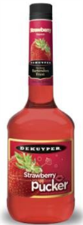 Dekuyper Strawberry Pucker 750ml